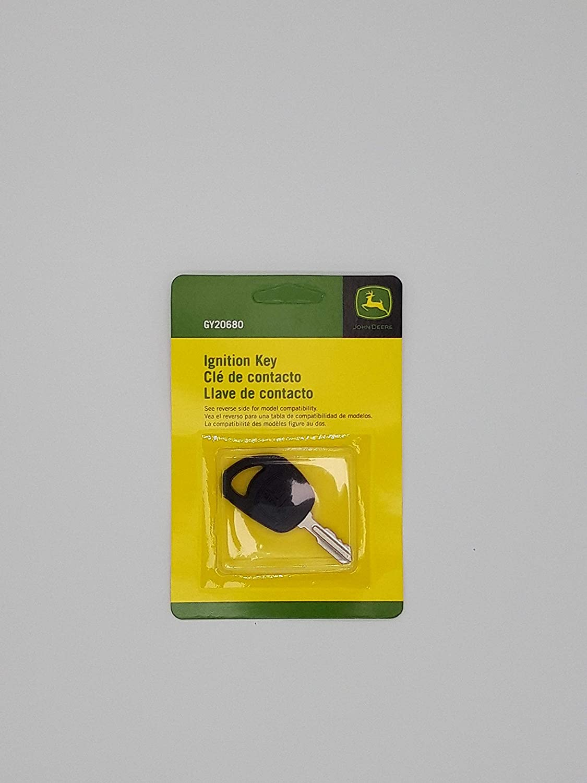 John Deere Genuine OEM Ignition Key GY20680 série 100 Scotts sabre LT L la d