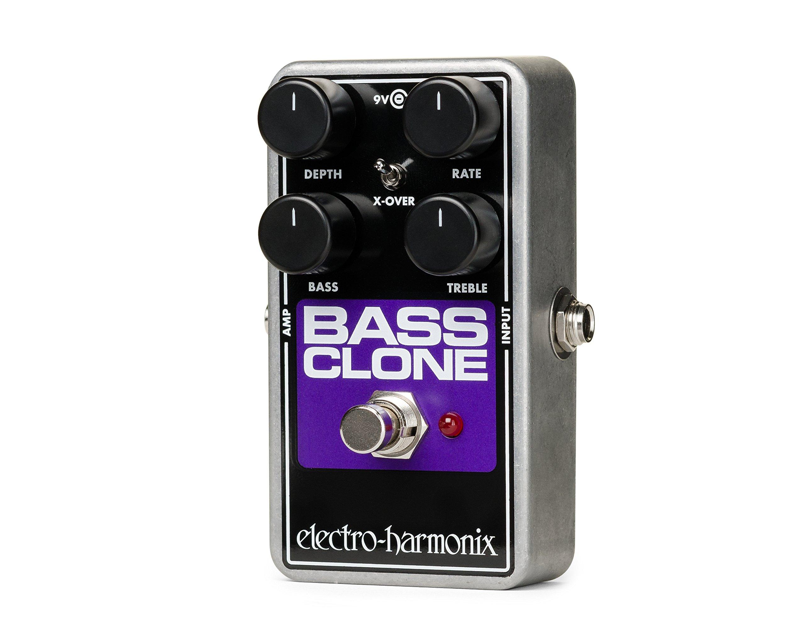 Electro-Harmonix BASS CLONE Bass Chorus Effect Pedal by Electro-Harmonix