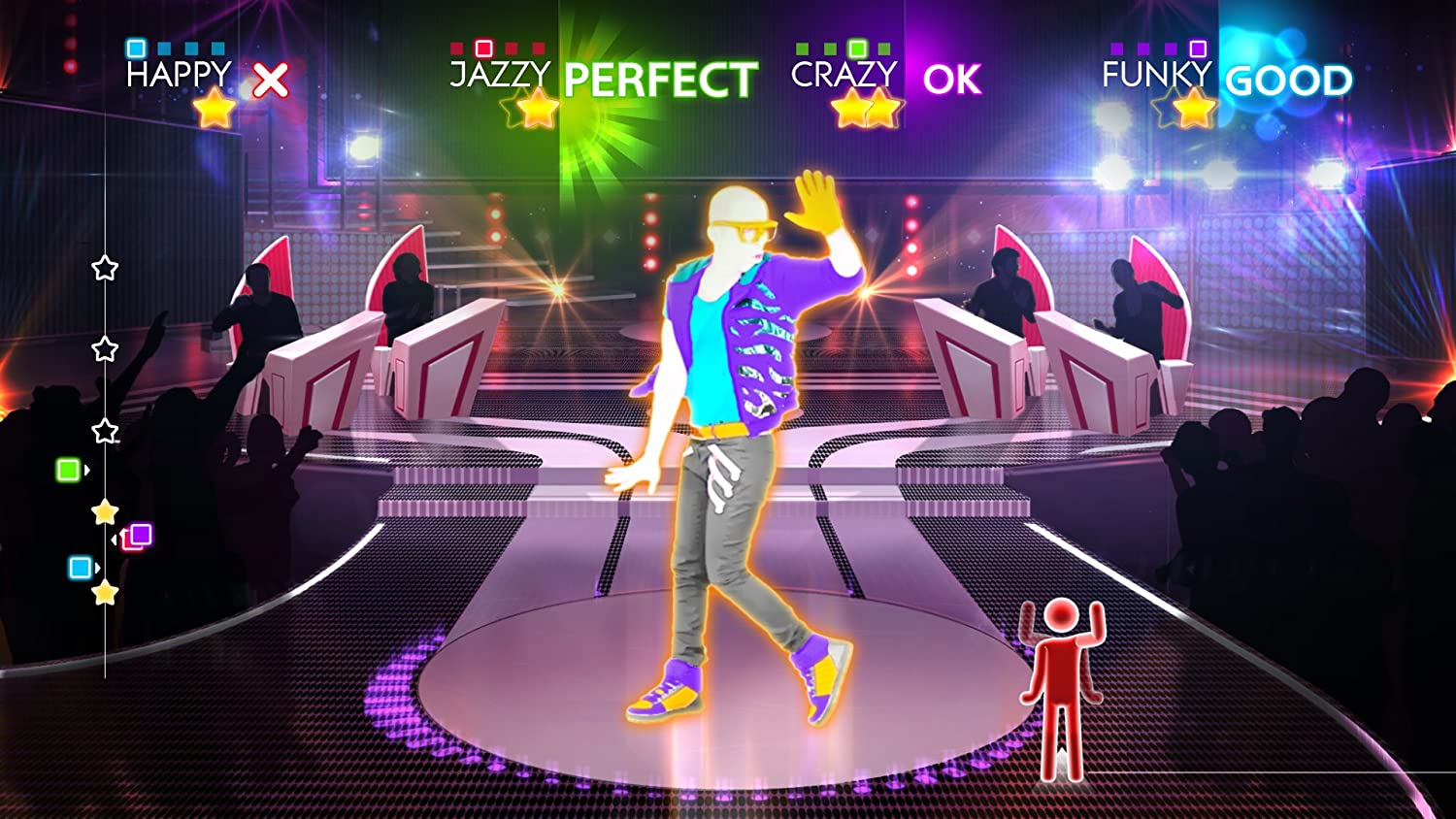 Just Dance Game For Xbox 360 : Amazon.com: just dance 4: xbox 360: ubisoft: video games