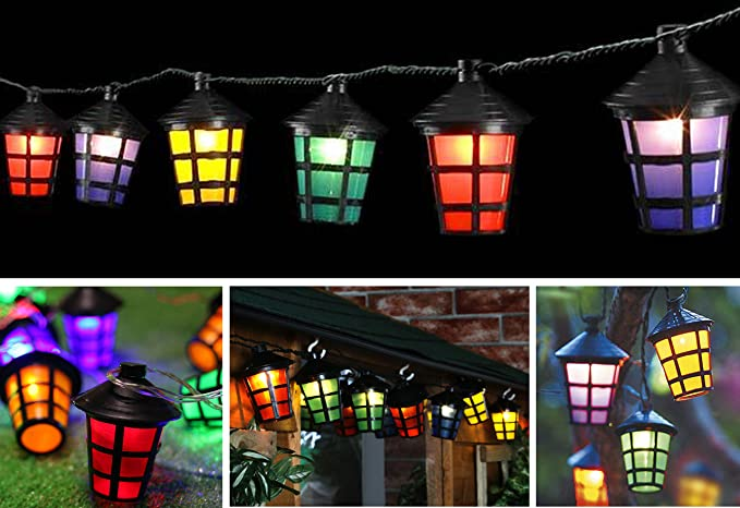 70 led coloured party lantern garden xmas lights festive outdoor 70 led coloured party lantern garden xmas lights festive outdoor string fairy mozeypictures Gallery