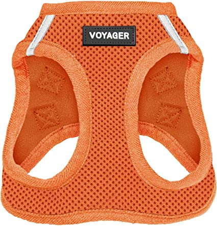 All Weather Mesh Voyager Step-In Air Dog Harness Step In Vest Harness for Small and Medium Dogs by Best Pet Supplies