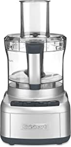 Cuisinart FP-8SV Elemental 8 Cup Food Processor, Silver