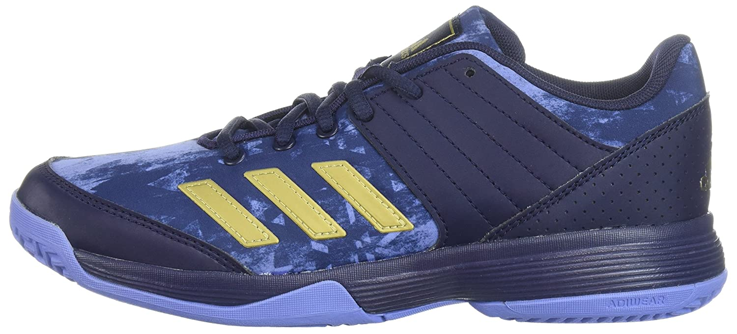 adidas Women's Ligra 5 W Tennis Shoe Ink/Metallic B072BWRY7N 12.5 B(M) US|Noble Ink/Metallic Shoe Gold/Chalk Purple f16e78