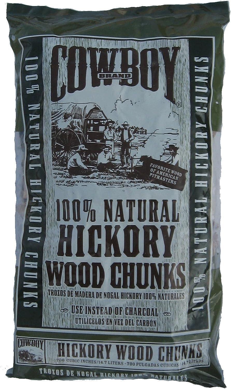 cowboy 350 cubic inch hickory wood chunks amazon ca patio lawn garden amazon ca