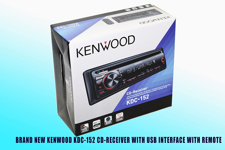 Amazon.com: PACKAGE! Kenwood KDC-152 CD-Receiver + Kenwood KFC-6965S Speakers: Car Electronics