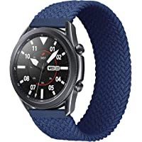 iBazal 22mm Galaxy Watch 46mm Horlogeband Nylon Elastisch Gevlochten Riem vervanging voor Samsung Galaxy Watch 3 45mm…