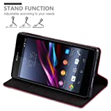Cadorabo Book Case Works with Sony Xperia Z1 in