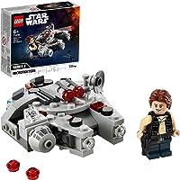 LEGO 75295 Star Wars Millennium Falcon Microfighter Bouwset met Han Solo Poppetje voor Kinderen van 6 Jaar en Ouder