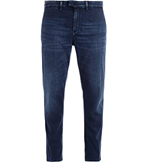 DONDUP Pantalone Jeans Blu Pablo Pablo Blu Scuro 32: Amazon