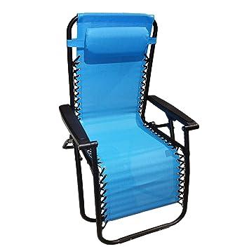 stiliac, chaise longue inclinable pliable \