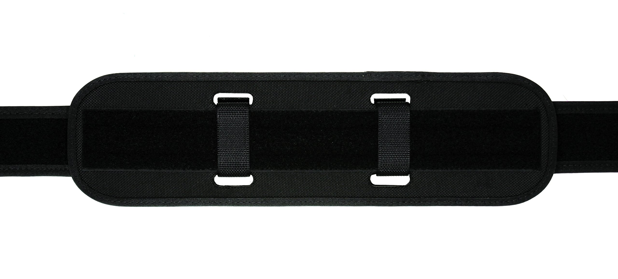 TUFF Products Double Layered Tri-Laminate Back Support, 2 Extended Black Nylon Keepers, 7973-NYA