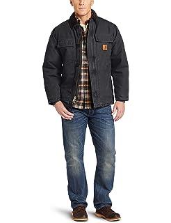 Carhartt Mens Arctic Quilt Lined Sandstone Traditional Coat C26