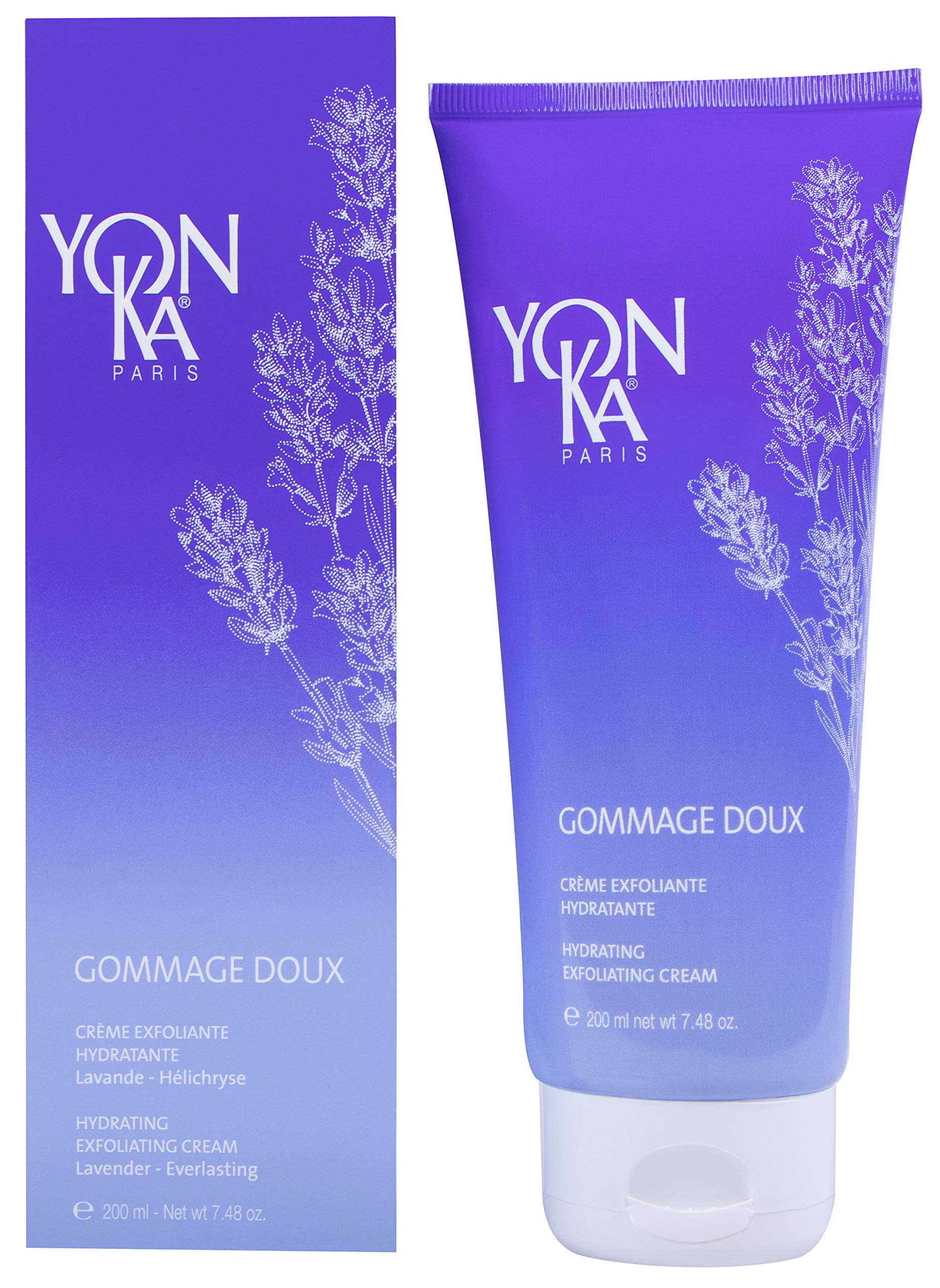 YON-KA - Gommage Doux - Hydrating Exfoliating Cream Formulated to Soften and Moisturize Your Skin ( 7.48 Ounces / 200 Milliliters )