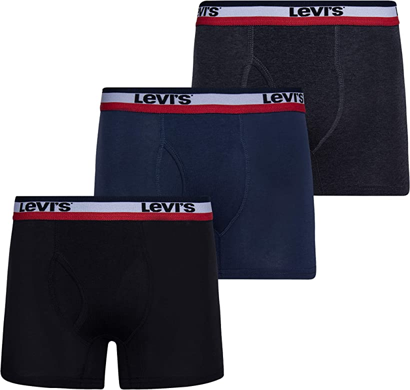 Levis Mens 3 Pack Boxer Briefs Stretch Underwear for Men: Amazon.es: Ropa y accesorios