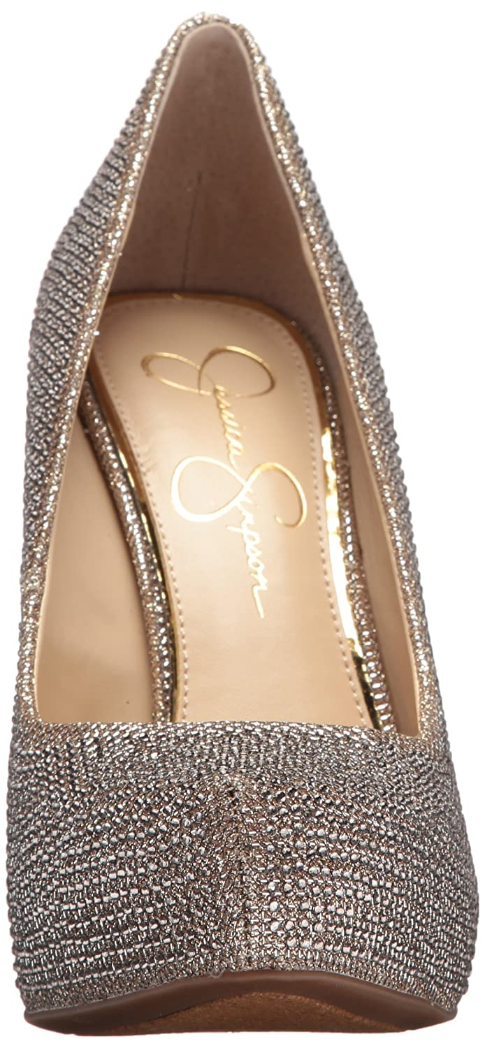 Jessica Simpson Women's Parisah2 US|Gold Pump B072YV5WD1 9.5 M US|Gold Parisah2 e34dad