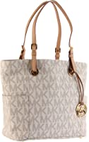Michael Kors Women's Jet Set Logo Tote Bag