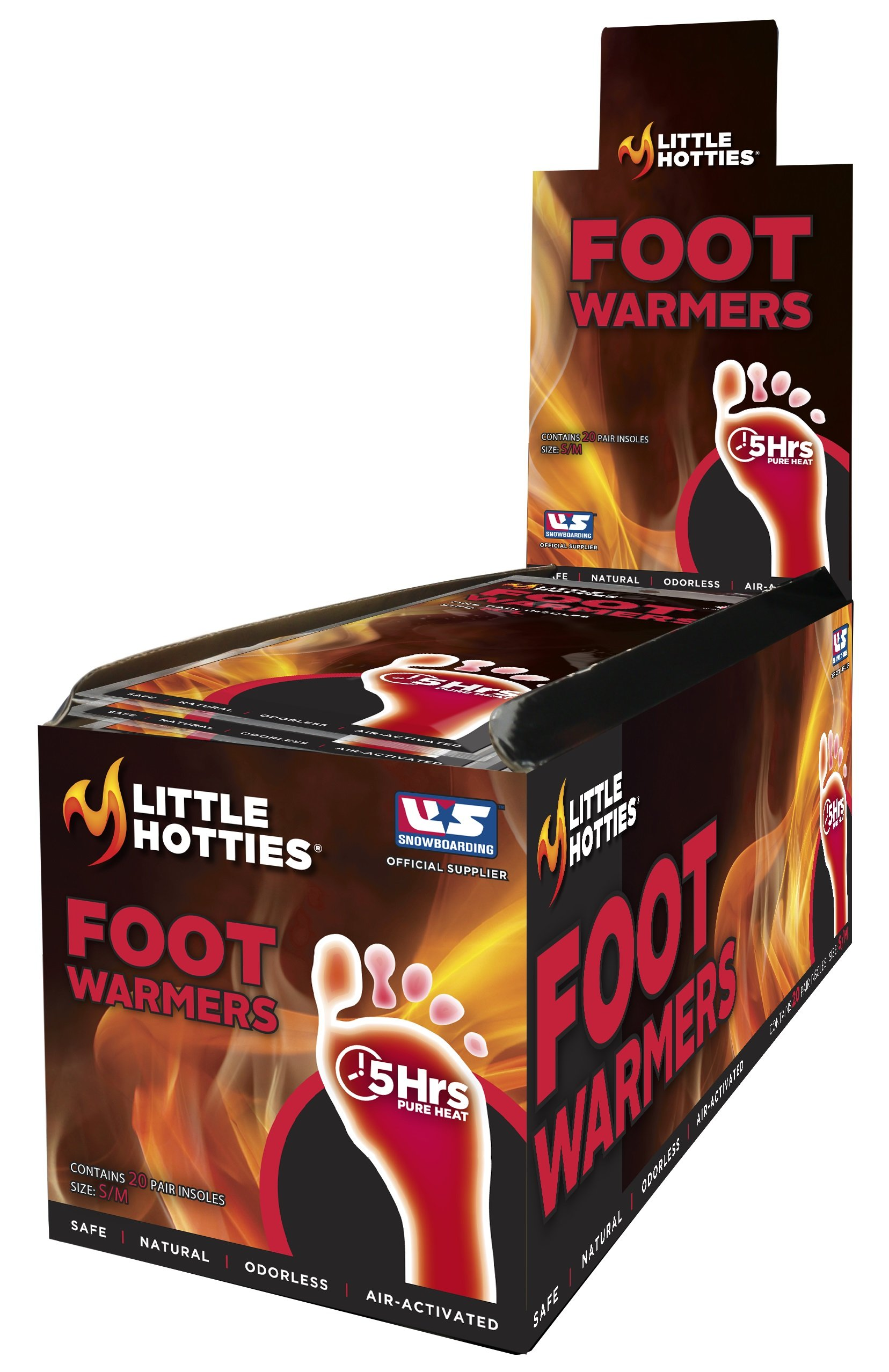 Little Hotties 5-Hour Insole Foot Warmer, Pack of 20 Pair, Medium/Large