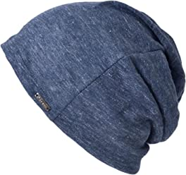 e268f2e9 Linen Mens Summer Beanie - Slouchy Lightweight Knit Hat Cap Made in Japan By  Casualbox