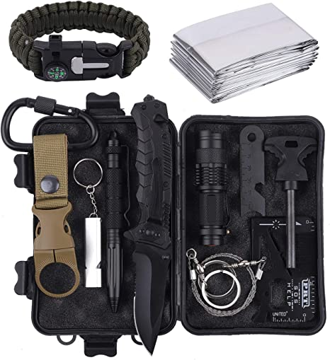 Military Style Can Opener Camping Hunting Survival Emergency Kits Lot of 12