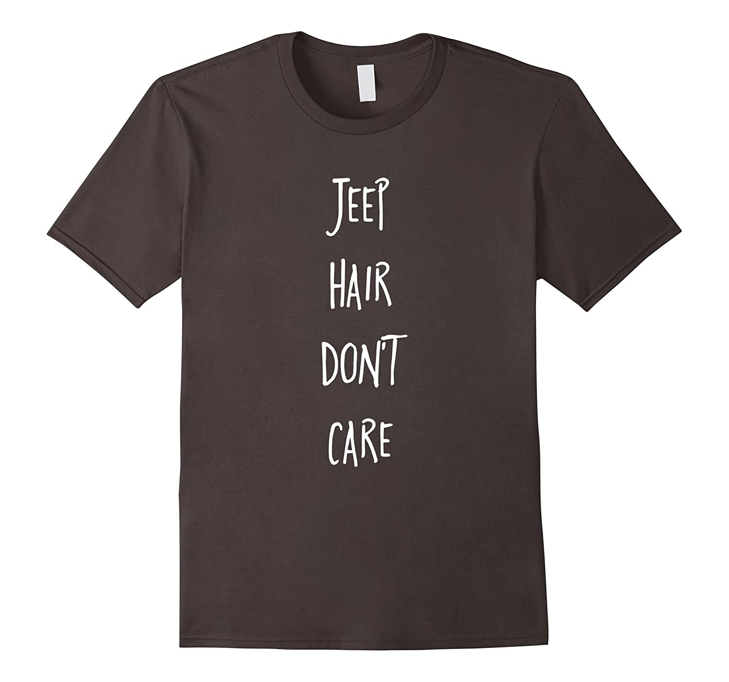 Jeep Hair Dont Care - Premium Cotton T-Shirt-RT