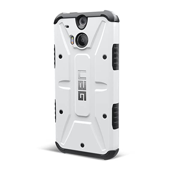 best website 695dd 7c85b Amazon.com: URBAN ARMOR GEAR Case for HTC One (M8), White: Cell ...