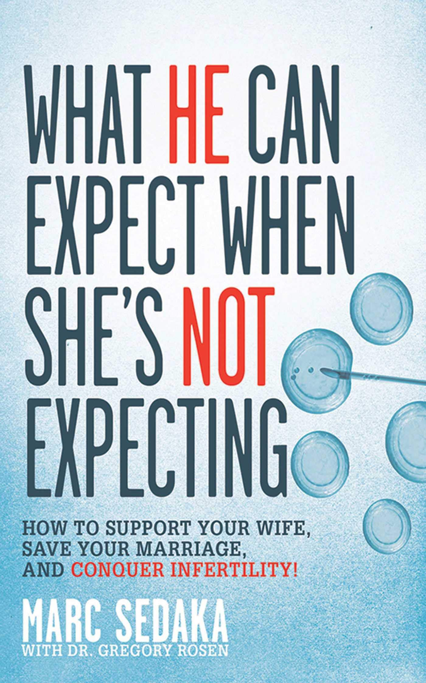 What He Can Expect When She's Not Expecting: How to Support Your Wife, Save  Your Marriage, and Conquer Infertility!: Marc Sedaka, Gregory Rosen: ...