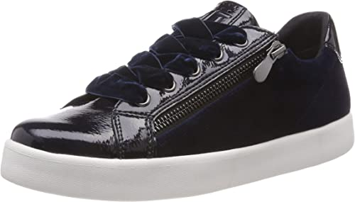 MARCO TOZZI Ballerina Shoes blue navy comb