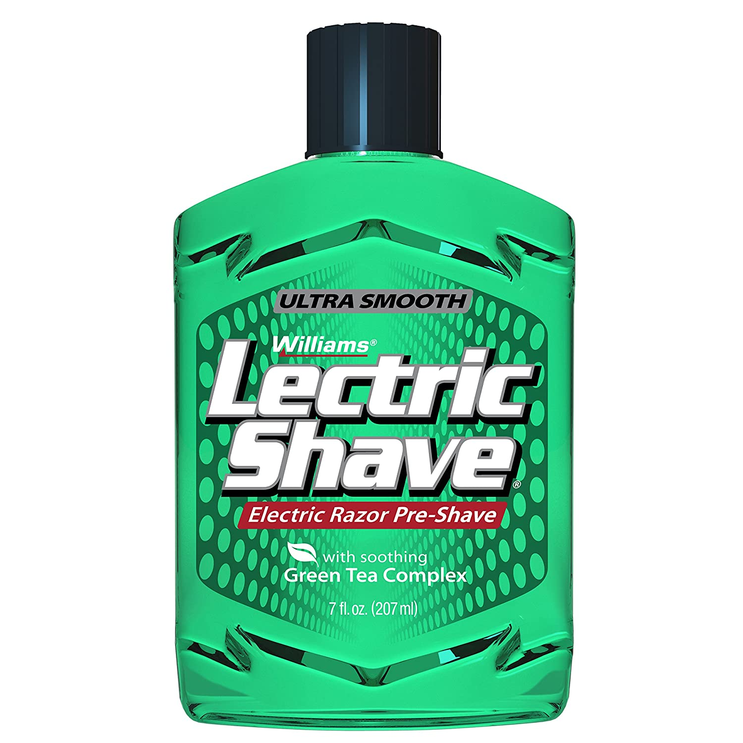 Williams Lectric Shave, Electric Razor Pre-Shave 7 Ounce