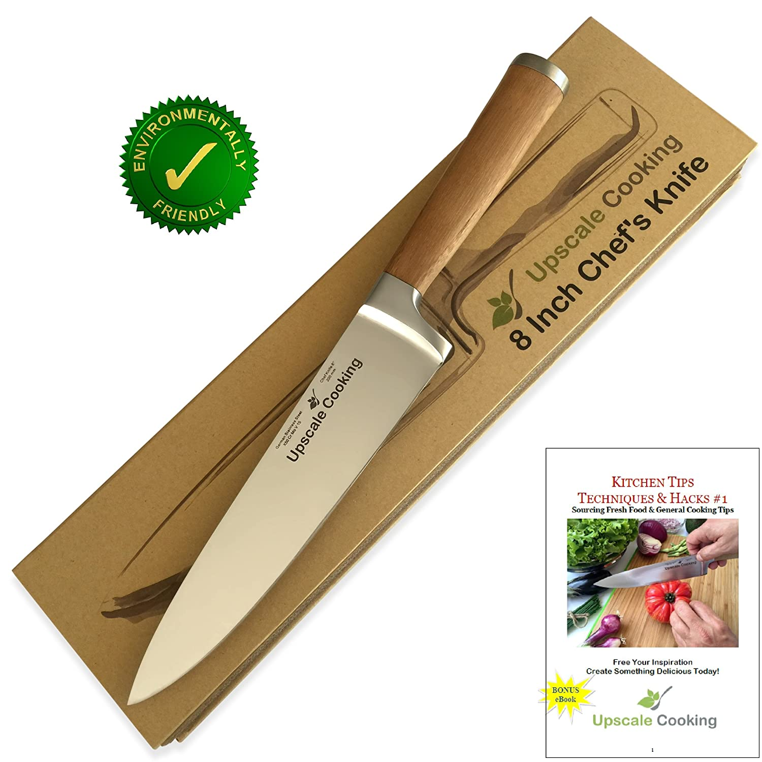 Amazon.com: Best Chef Knife 8 Inch by Upscale Cooking ...