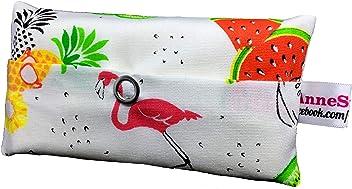 Taschentücher Tasche Flamingo Melone Design Adventskalender Befüllung Wichtelgeschenk Mitbringsel Give Away Mitarbeiter Weihnachten Abschied Geschenk