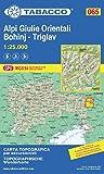 Alpi Giulie Orientali - Bohinj - Triglav 1:25.000
