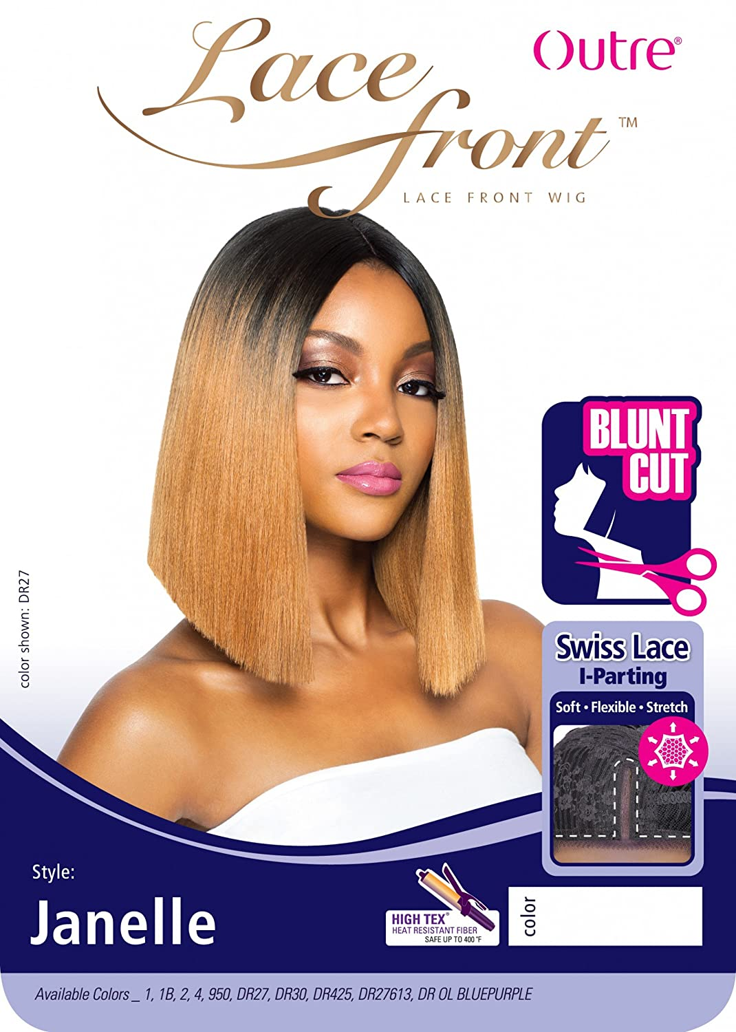 Amazon Outre Synthetic L Part Lace Front Wig Trina 1b Beauty