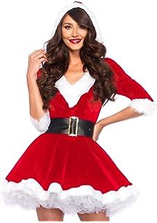 Costume Babbo Natale donna babba super lusso mamma  Amazon.it ... 5d14c44e8e8