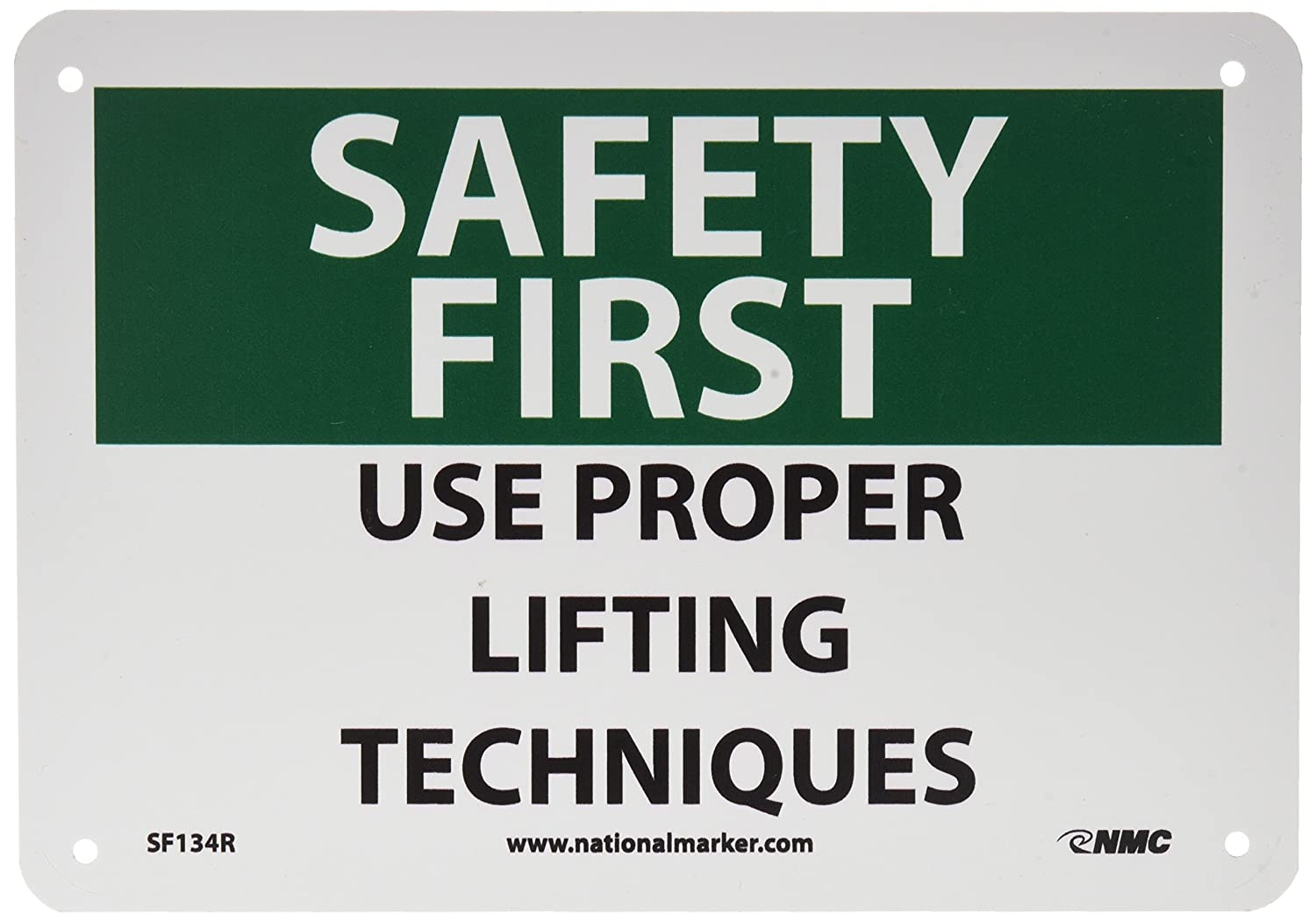 nmc sf134p osha sign legend