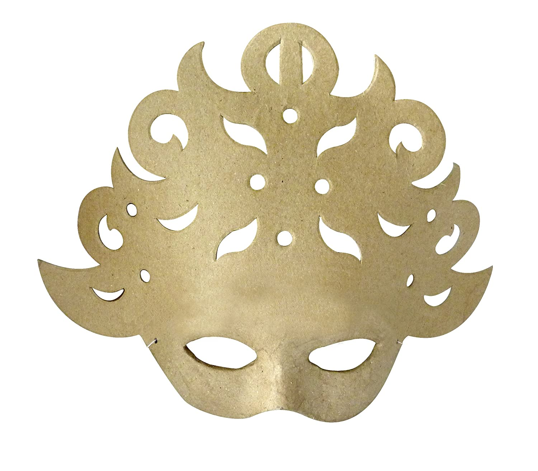 Decopatch AC288O - Máscara de carnaval para decorar (25 x 21 x 8 cm): Amazon.es: Hogar