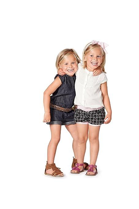 Burda Patrón de costura 9491 Mono, blusa, pantalones cortos - con ...