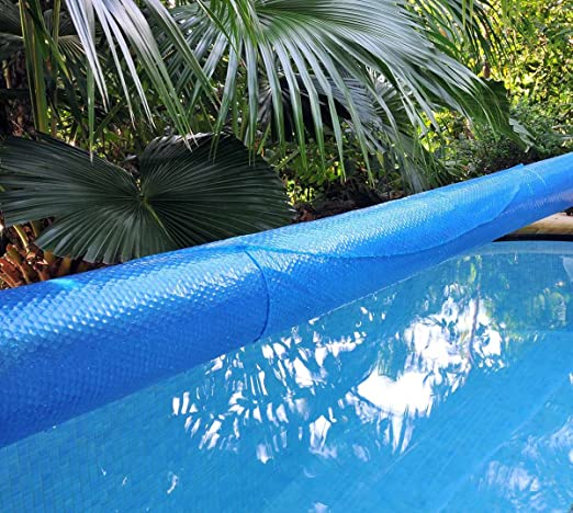 Kokido K858BX - Cobertor Solar para Piscina Desmontable Kokido 10x5 m, con un grosor de 400 micras y tratamiento protector de rayos UVA: Amazon.es: Jardín