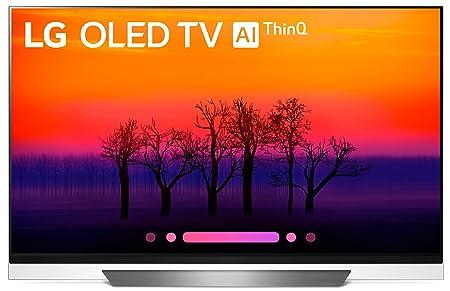 LG Electronics OLED55E8PUA 55-Inch 4K Ultra HD Smart OLED TV (2018 Model)