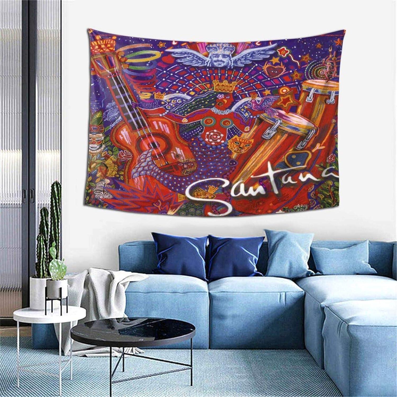 CSACEO Santana Supernatural Tapestry Mural Wall Hanging Fashion Blanket for Living Room Bedroom Dorm Office Decor