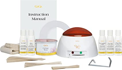 Amazon Com Gigi Mini Pro Hair Removal Waxing Kit Wax Warmer