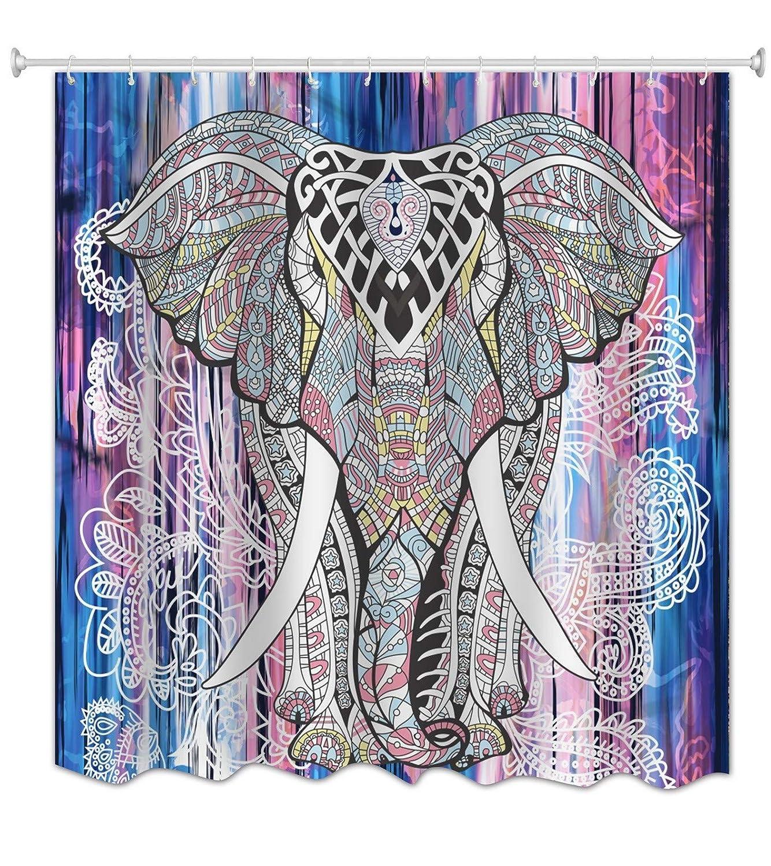 A.Monamour Mandala India del Hippie Tribu del Elefante del Modelo ...