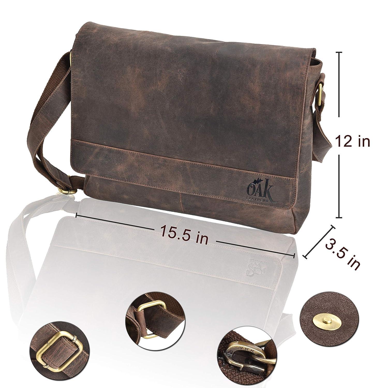 Messenger bag for men-16inch laptop messenger bag leather messenger bag messenger bag for women