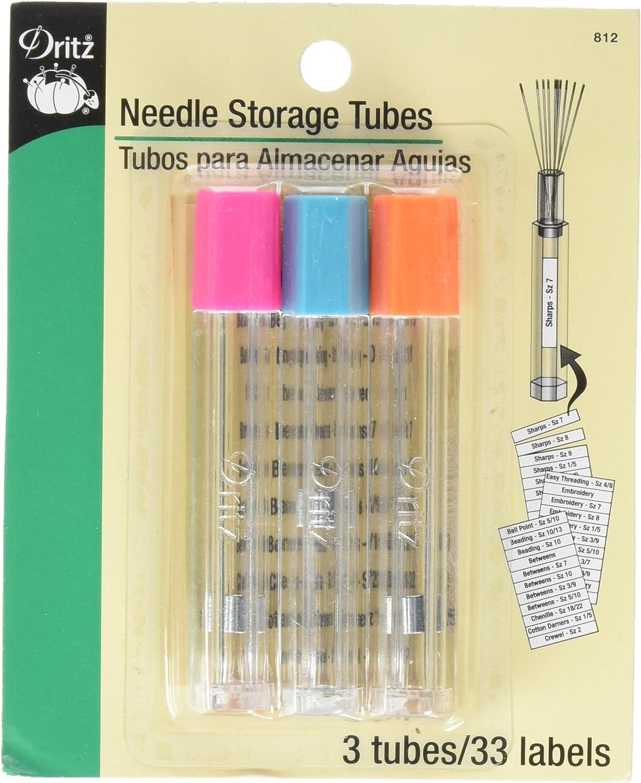 Large NEEDLE SAFE Magnetic Needle Storage Case Needlepoint ~ Needles /& Scissors