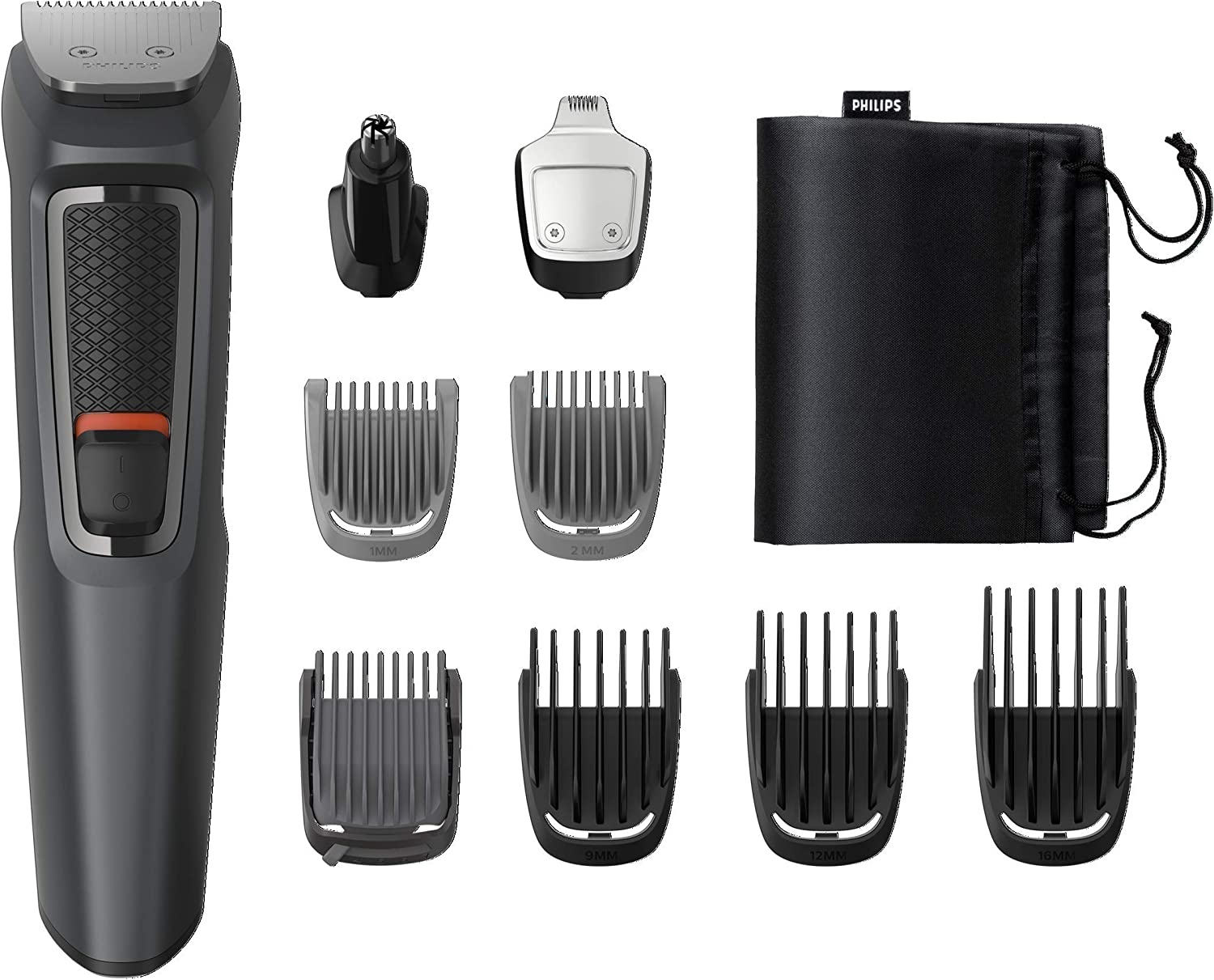 Philips MULTIGROOM Series 3000 Cara y cabello 9 en 1 MG3757/15 ...
