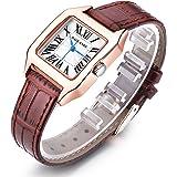 Women Wrist Watch Ladies Waterproof Leather Strap Watches Dress Quartz Watch
