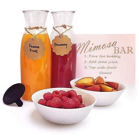 Amazon.com: Juego de barra Mimosa de 9 piezas – Celebra en ...