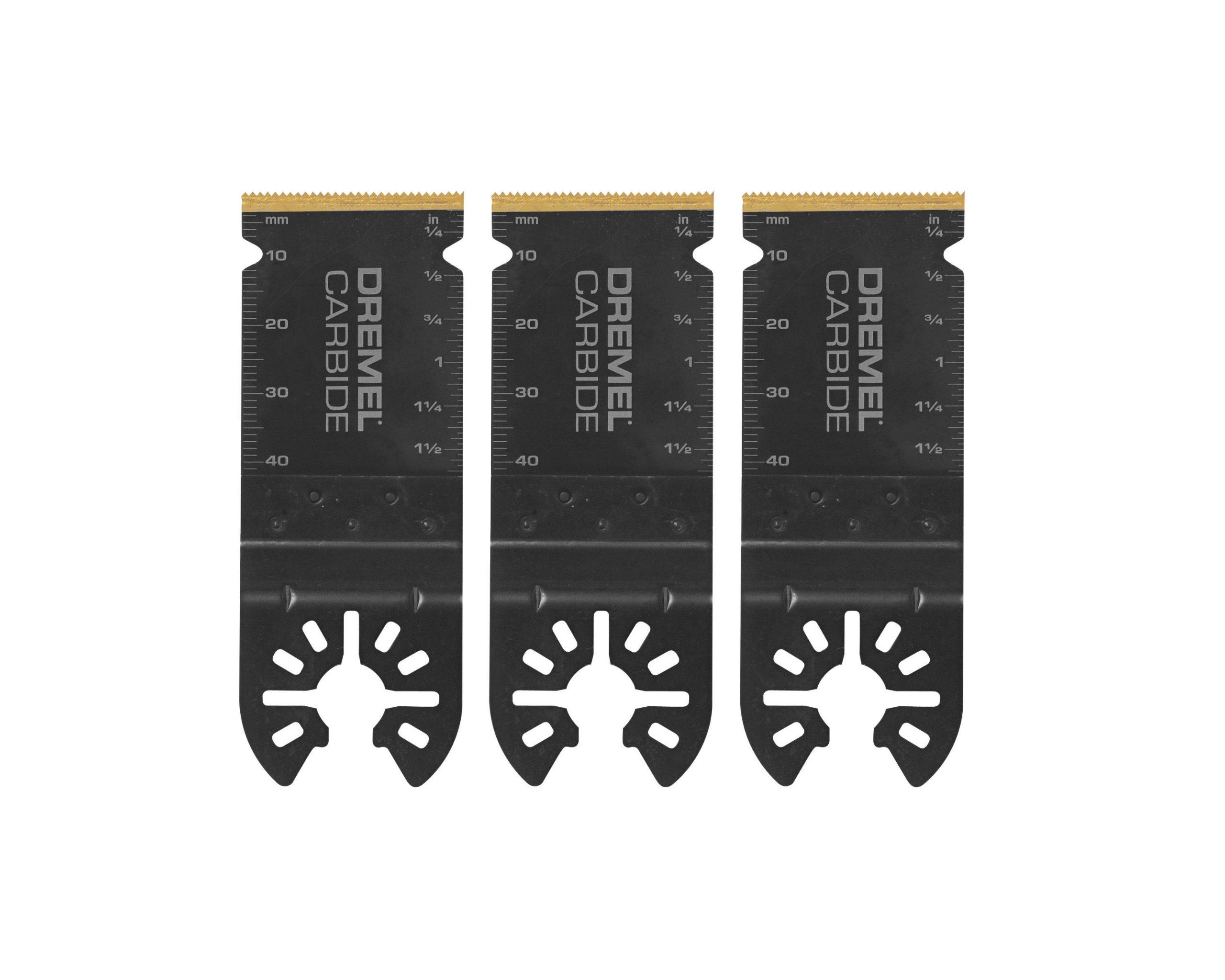 Dremel MM485B Carbide Flush Cutting Blades, Pack of 3
