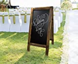 """Large Sturdy Handcrafted 40"""" x 20"""" Wooden A-Frame"""