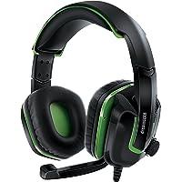 DreamGEAR GRX-440 - Auriculares con Cable para Xbox One, Color Negro y Verde