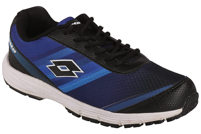 Buy Lotto Navy Blue \u0026 Black Sport Shoes